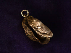 Early 1900s Oyster Pendant