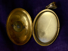 c1880 Victorian Pearl Locket