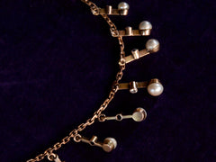 1900s Edwardian Pearl Necklace