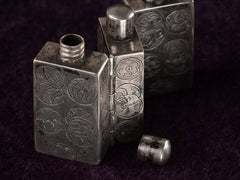 c1900 Chinese Folding Snuff Bottles