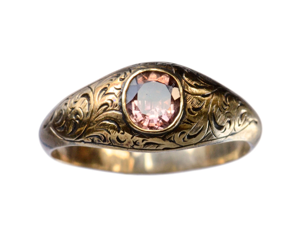 1830s Pink Amethyst Ring