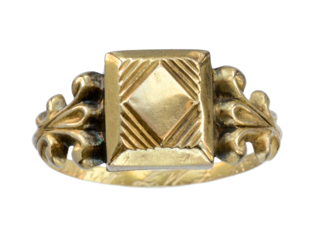 1835 Georgian Poison Ring