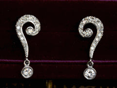 EB Question Mark Earrings