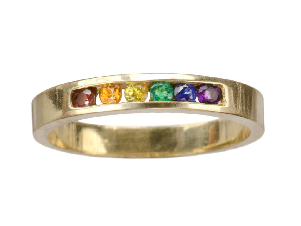 Vintage Spectral/Rainbow Ring
