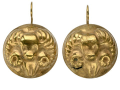 1940s Joseff Aries Earrings