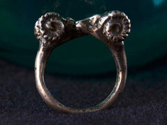 Vintage Ram&#146s Head Ring