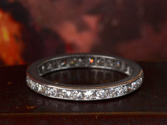 1950s Diamond Eternity Band