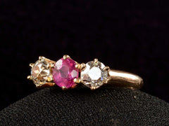 1900s Ruby & Diamond Ring