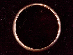 Soviet Rose Gold Wedding Band