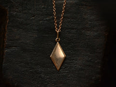 Vintage Russian Rose Gold Pendant
