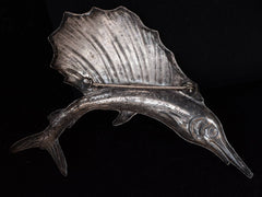 1950s Silver Sailfish Brooch