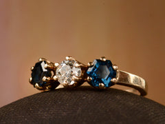 1920s Sapphire and Diamond Ring