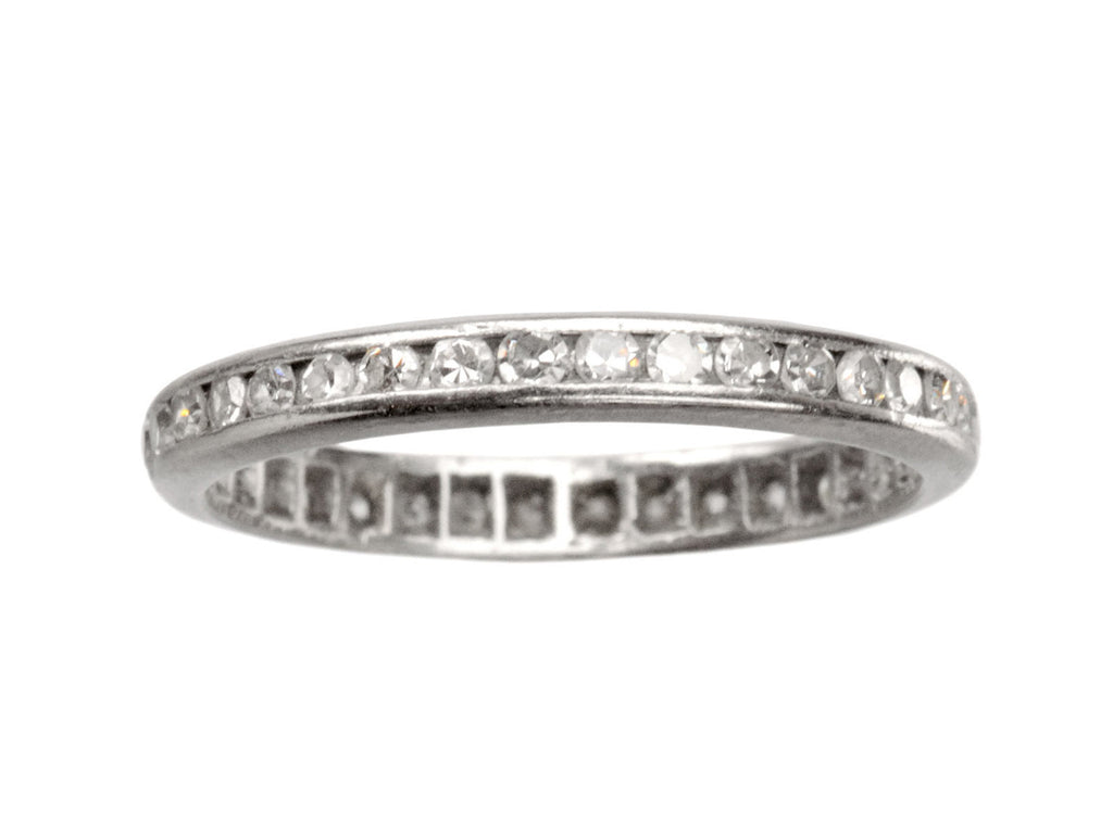 1930s Single Cut Diamond Eternity Band