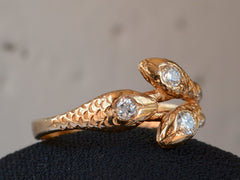 Vintage Three Snake Ring