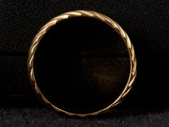 1940s Reeded 6.5mm Band