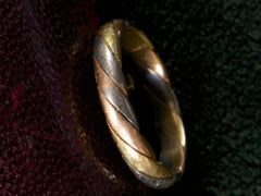 Vintage French Wedding Band