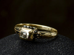 1880s Neo-Renaissance Diamond Ring