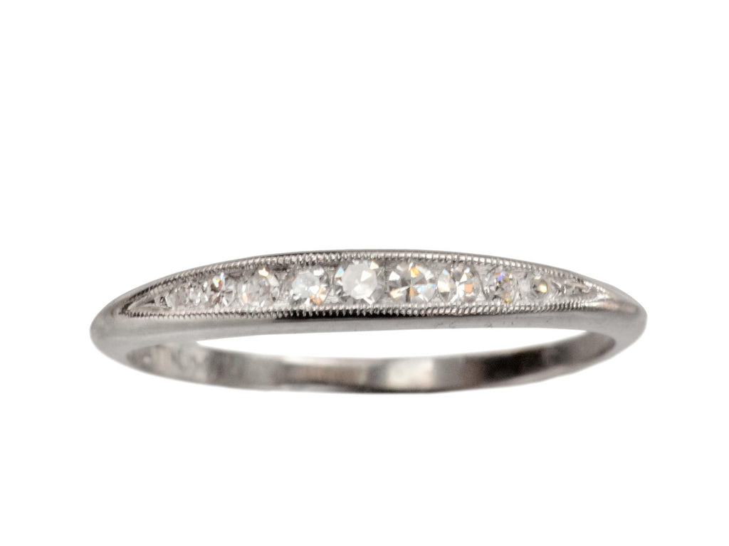 1930s Tapered Diamond Band