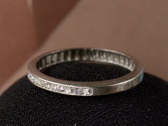 1940s Platinum & Diamond Band