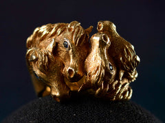 1960s Tiffany Horse Head Ring