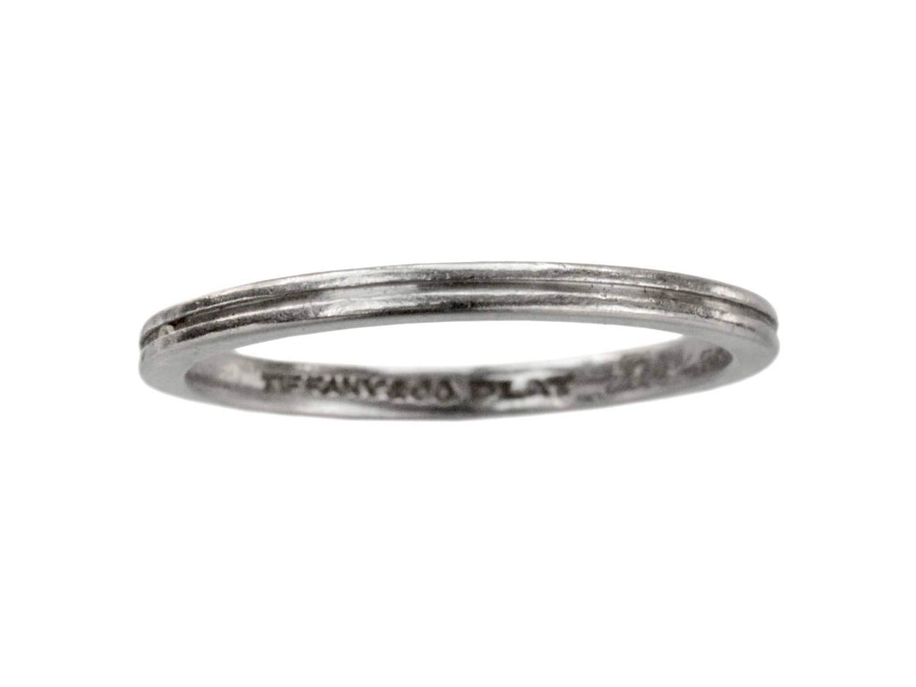 1944 Tiffany & Co Platinum Band