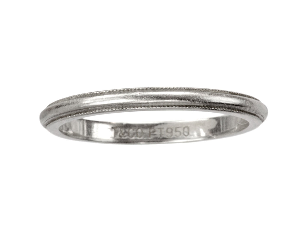 Tiffany & Co Milgrain Band