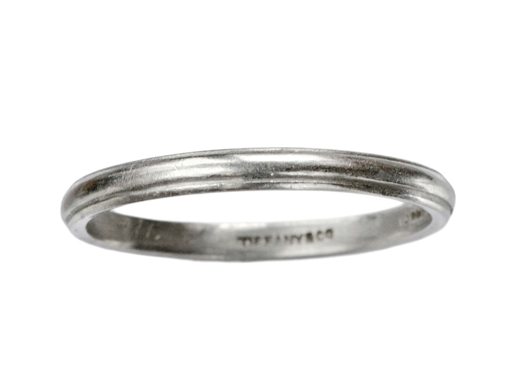 1940s Tiffany & Co Platinum Band
