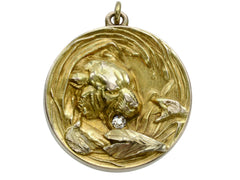 1890s Tiger & Fish Locket