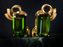 1960s Tourmaline Earrings