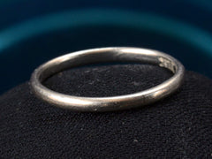 Early 1900s 2.0mm Platinum Band