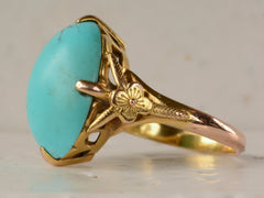 1930s Turquoise Ring
