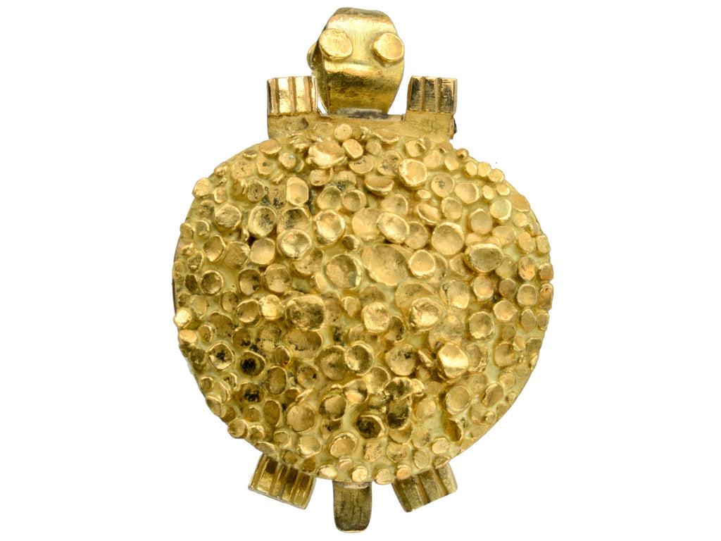 1960s 18K Turtle Locket