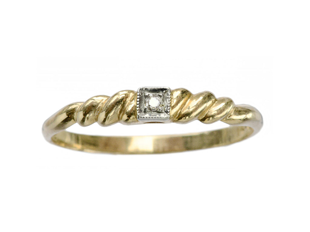 1930s 0.03ct Diamond Ring
