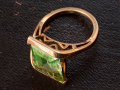 1950s Uranium Glass Ring