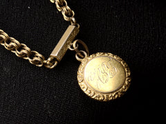 1880s Pearl Token Necklace