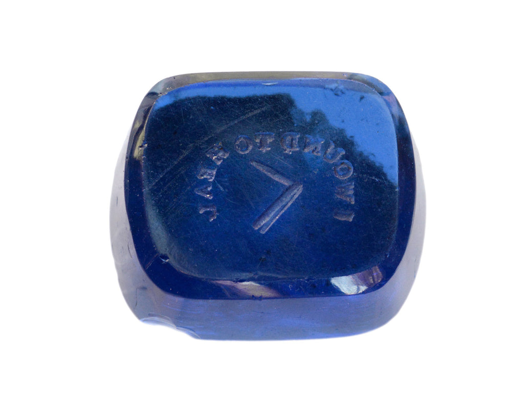 Early 1800s Blue Intaglio