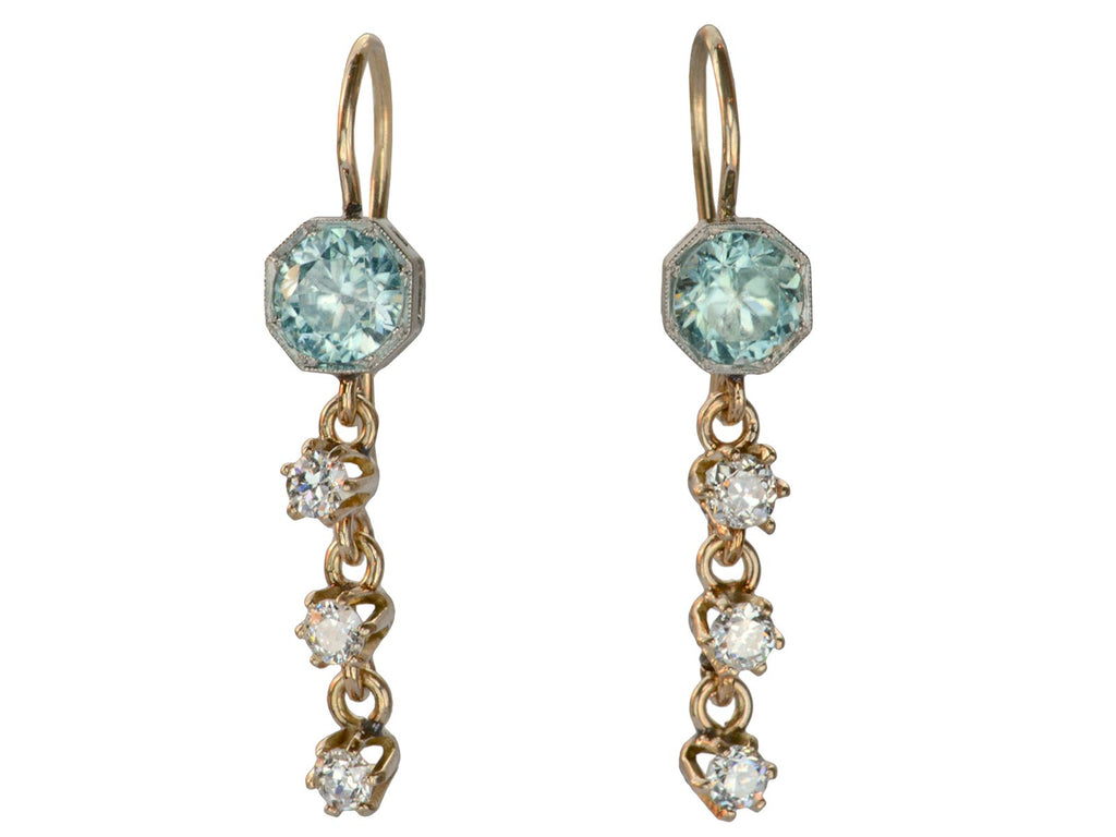 1910s Edwardian Diamond Earrings