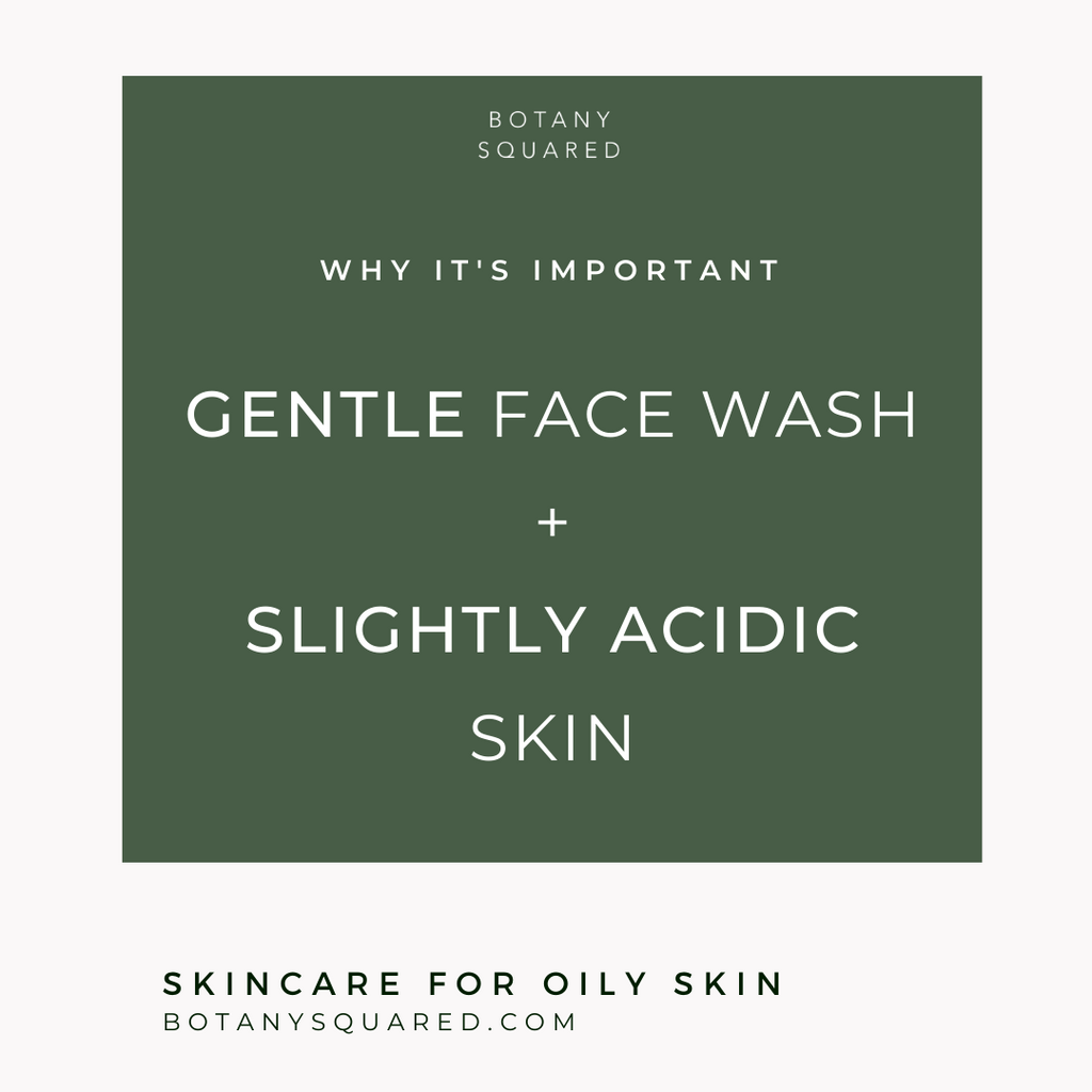 gentle face washing with manuka and apple cider vinegar low pH