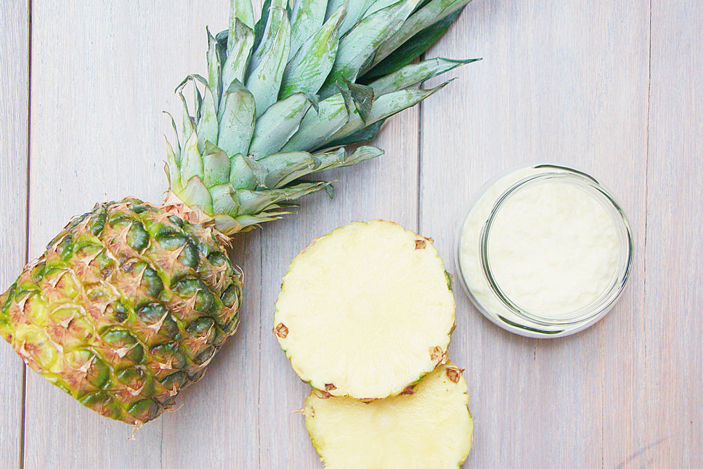 pineapple face mask with enzymes