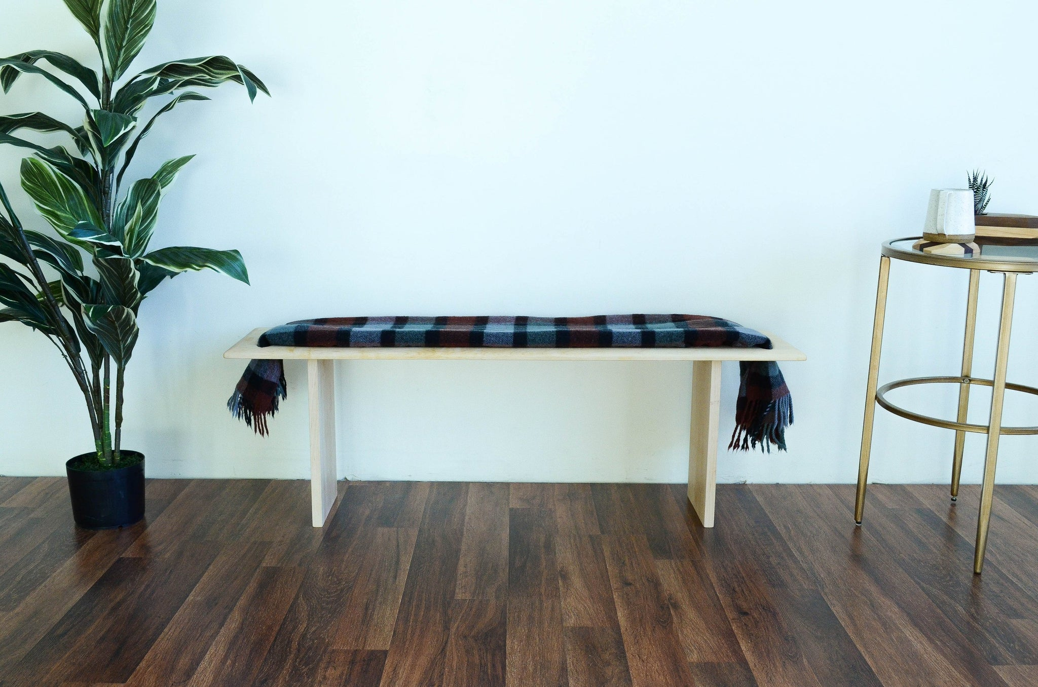 Admirable Blanket Wood Bench 11Th Lane Home Furnishings Machost Co Dining Chair Design Ideas Machostcouk