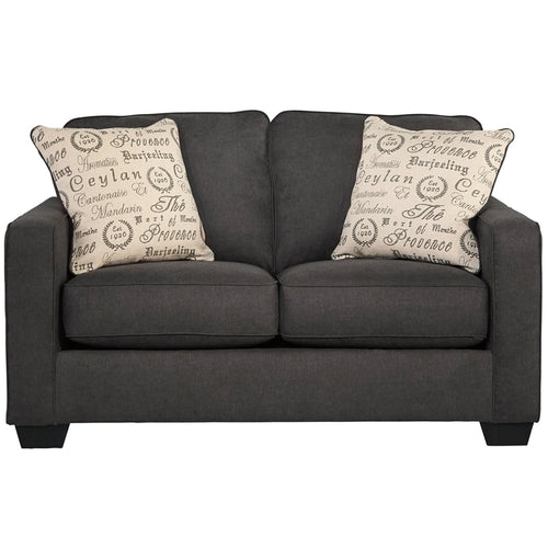 Quartz Microfiber Loveseat