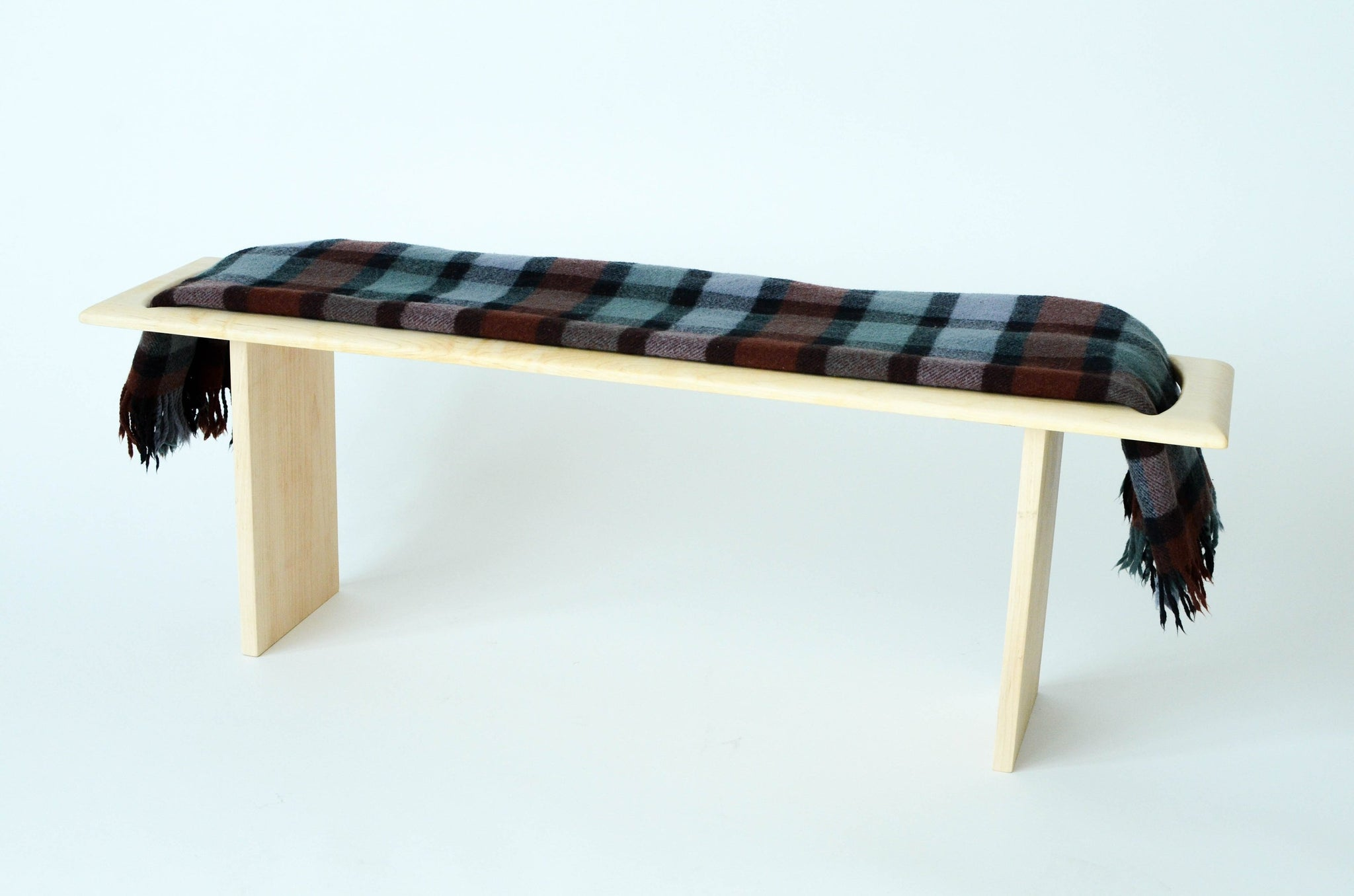 Cool Blanket Wood Bench 11Th Lane Home Furnishings Machost Co Dining Chair Design Ideas Machostcouk