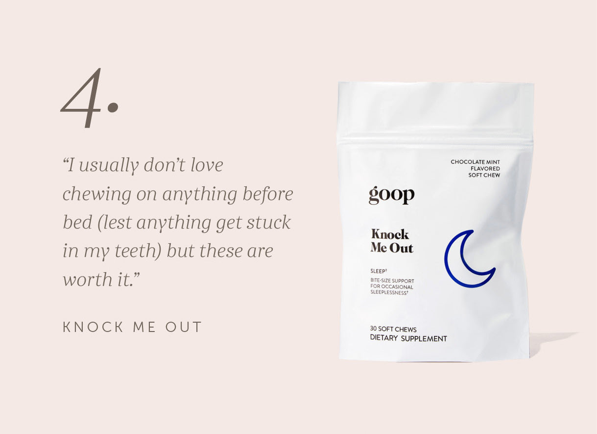 Goop Knock Me Out Chews