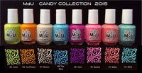 10. CANDY stamping polish collection - 14 ml