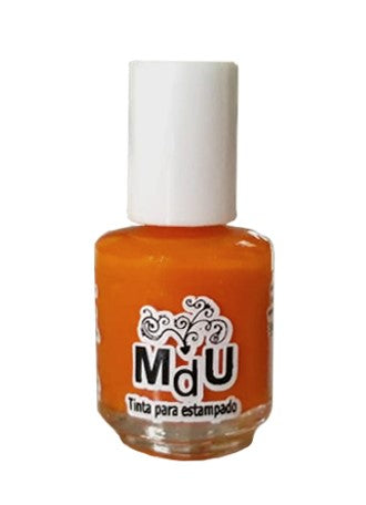 107. TANGERINE stamping polish - 5ML mini