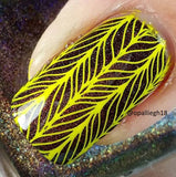 11. YELLOW stamping polish - 5ML mini