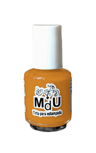 114. GINGER stamping polish - 5 ml mini