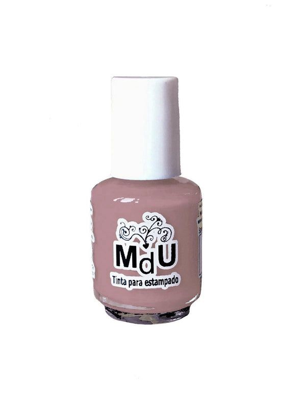 117. MS. CLAUS stamping polish - 5 ml mini