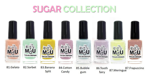 12. SUGAR stamping polish collection - 14 ml
