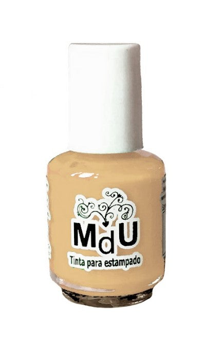 123. WARM  stamping polish - 5 ml mini